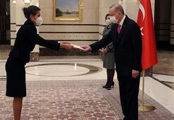 Lüksemburg Büyükelçisi, Cumhurbaşkanı Erdoğana güven mektubu sundu