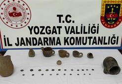 Yozgatta tarihi eser operasyonunda 2 şüpheli gözaltına alındı
