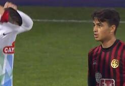 Türkiyede gündem oldu Eskişehirsporlu genç futbolcu Oğulcan formasını veremedi