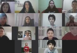 Öğrencilerden Bakan Koca ve sağlık çalışanlarına teşekkür videosu