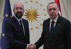 Erdoğan, AB konseyi Başkanı Michel ile görüştü: AB yapıcı bir tutum benimsemeli