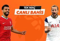 Liverpool - Tottenham maçı Tek Maç ve Canlı Bahis seçenekleriyle Misli.com'da