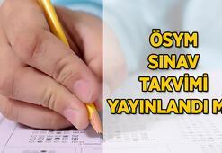 ÖSYM sınav takvimi yayınlandı mı 2021 YKS, ALES, DGS ne zaman yapılacak