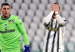 Ronaldo penaltı kaçırdı, Juventus takıldı...