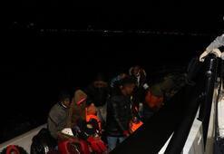 Çanakkale açıklarında 23 sığınmacı kurtarıldı