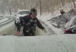 ABD'de şiddetli kar yağışı ölümlere neden oldu