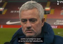 Jose Mourinho: Berabere kalsaydık mutluluktan uçardım
