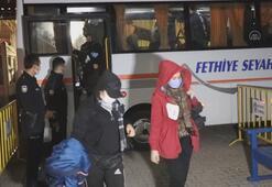 Muğlada 97 düzensiz göçmen yakalandı
