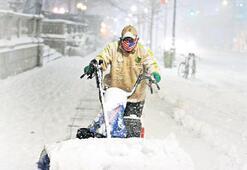 ABD ve Japonya kar altında