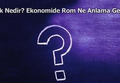 Rok Nedir Ekonomide Rom Ne Anlama Gelir