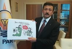 AK Partili Dağdan İzmir Büyükşehir Belediye Başkanı Soyere karikatürist tepkisi
