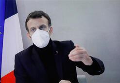 Macron, koronavirüse AB liderler zirvesinde yakalanmış olabilir