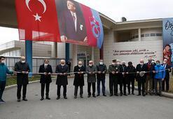 Trabzonda Özkan Sümer Futbol Akademisi açıldı