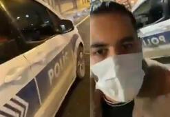 Polis aracıyla tur atmıştı Harekete geçildi