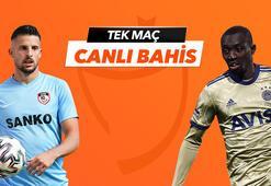 Gaziantep FK - Fenerbahçe maçı Tek Maç ve Canlı Bahis seçenekleriyle Misli.com'da