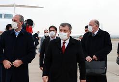 Sağlık Bakanı Koca ve Adalet Bakanı Gül, Gaziantepte