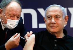 İsrailde ilk aşı canlı yayında Netanyahuya yapıldı