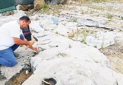 Bin 300 yıllık depremin izleri