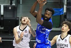 Beşiktaş - Büyükçekmece Basketbol: 84-77
