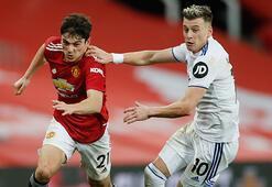 Manchester United, Leeds Unitedı 6 golle geçti