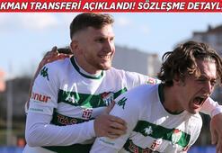 Son dakika   Ali Akman transferi resmen açıklandı Tüm detaylar belli oldu...