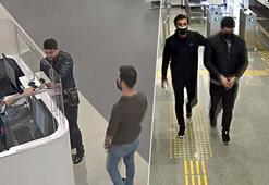Böyle yakalandı İstanbul Havalimanında hareketli anlar