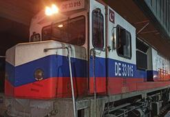 Çine gidecek ikinci ihracat treni Ankarada geçişini tamamladı