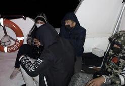 4 düzensiz göçmen böyle kurtarıldı