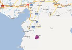 Hatay ve Mersinde deprem mi oldu Kandilli Rasathanesi depremin şiddetini kaç olarak açıkladı