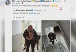 İçişleri Bakanı Soyludan Türk Polisi paylaşımı