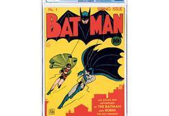 Batman'in ilk sayı kopyası satılıyor