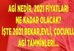 AGİ ne kadar olacak 2021, kaç TL, AGİ nedir Bekar, evli ve çocuklu AGİ tahminleri burada...