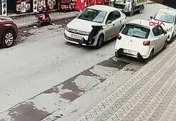 Yola fırlayan çocuğa otomobil çarptı