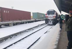 Çine giden ikinci ihracat treni Karsa ulaştı
