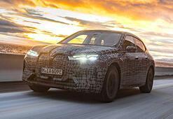BMW iX zorlu kış şartlarında test ediliyor