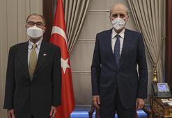 AK Parti Genel Başkanvekili Kurtulmuş, Fransa ve Japonyanın Ankara büyükelçilerini kabul etti