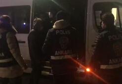 Ankarada 40 düzensiz göçmen yakalandı