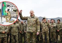 Azerbaycan Cumhurbaşkanı Aliyev işgalden kurtarılan Gubadlıyı ziyaret etti