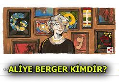 Aliye Berger kimdir, nereli Googleın bugünün Doodleı: Aliye Bergerin 117. yaş günü...