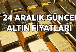 Son Dakika Haberi: Merkez Bankası kararının ardından altın fiyatlarında son durum ne 24 Aralık güncel altın fiyatları