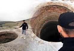 Kireç ocağının 100 metrelik kuyuları korkutuyor Sonucu ölümcül olabilir