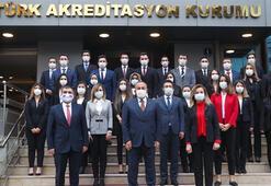 Dışişleri Bakanı Çavuşoğlu, Türk Akreditasyon Kurumunu ziyaret etti