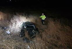 Erzincanda feci kaza 2 ölü, 2 yaralı