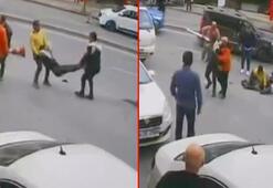 İstanbul'un göbeğinde dubalı, sopalı ve bıçaklı kavga