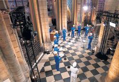 Notre Dame'da yangın sonrası ilk konser