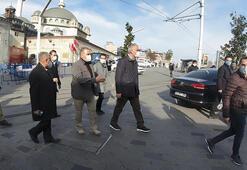 Kültür Bakanı Ersoy, Taksimde incelemelerde bulundu