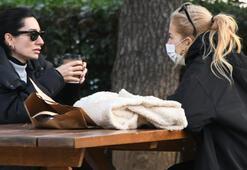 Burcu Esmersoy parkta toplantı yaptı
