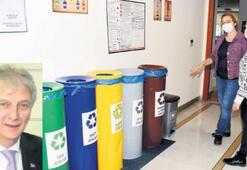 EBSO'nun atıkları geri dönüşüme hazır