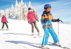 Koronaya rağmen kayak merkezleri doldu