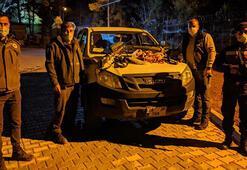 Mersinde yaban keçisi avlayan 4 kişiye 40 bin lira ceza